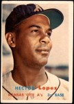 1957 Topps #6  Hector Lopez  Front Thumbnail