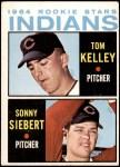 1964 Topps #552   -  Sonny Siebert / Tom Kelley Indians Rookies Front Thumbnail