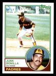 1983 Topps #563  Juan Bonilla  Front Thumbnail