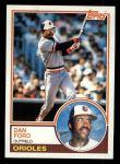 1983 Topps #683  Dan Ford  Front Thumbnail