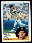1983 Topps #723  Randy Moffitt  Front Thumbnail