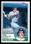 1983 Topps #113  Ron Roenicke  Front Thumbnail