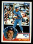 1983 Topps #330  Buddy Bell  Front Thumbnail