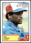 1983 Topps #403   -  Tim Raines All-Star Front Thumbnail