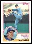 1983 Topps #463  Gaylord Perry  Front Thumbnail