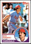 1983 Topps #700  Keith Hernandez  Front Thumbnail