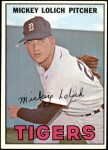 1967 Topps #88  Mickey Lolich  Front Thumbnail