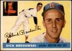 1955 Topps #171  Dick Brodowski  Front Thumbnail