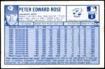 1976 Kellogg's #55  Pete Rose  Back Thumbnail