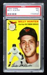 1954 Topps #48 WHT Billy Hunter  Front Thumbnail