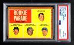 1962 Topps #597   -  Denis Menke / Amado Samuel / Rod Kanehl / Jim McKnight Rookie Parade - Infielders Front Thumbnail