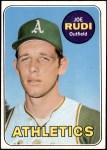 1969 Topps #587  Joe Rudi  Front Thumbnail