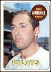 1969 Topps #17  Mike Marshall  Front Thumbnail