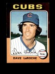 1975 Topps Mini #258  Dave LaRoche  Front Thumbnail