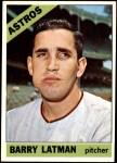 1966 Topps #451  Barry Latman  Front Thumbnail
