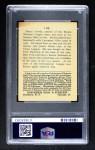 1915 Cracker Jack #138  Hank Gowdy  Back Thumbnail
