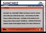 2019 Topps Update #4  Gary Sanchez  Back Thumbnail