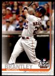 2019 Topps Update #232  Michael Brantley  Front Thumbnail