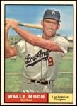 1961 Topps #325  Wally Moon  Front Thumbnail