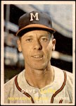 1957 Topps #389  Dave Jolly  Front Thumbnail