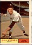 1961 Topps #205  Bill Pierce  Front Thumbnail