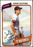1980 Topps #137  John Castino   Front Thumbnail