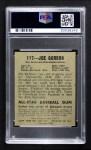 1948 Leaf #117  Joe Gordon  Back Thumbnail