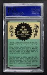 1962 Topps #30  Dollard St. Laurent  Back Thumbnail
