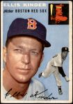 1954 Topps #47 WHT Ellis Kinder  Front Thumbnail