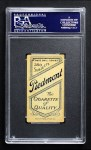 1909 T206  Frank King  Back Thumbnail