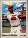 2019 Topps Heritage #702 A Andrew McCutchen  Front Thumbnail
