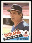 1985 Topps #119  Pat Corrales  Front Thumbnail