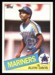 1985 Topps #145  Alvin Davis  Front Thumbnail