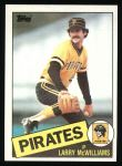 1985 Topps #183  Larry McWilliams  Front Thumbnail