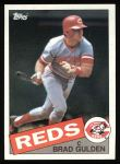 1985 Topps #251  Brad Gulden  Front Thumbnail