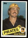 1985 Topps #332  Brian Harper  Front Thumbnail