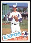 1985 Topps #687  Bill Gullickson  Front Thumbnail