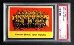 1963 Topps #21   Bruins Team Front Thumbnail