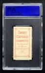 1909 T206  Beals Becker  Back Thumbnail
