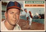 1956 Topps #336  Ellis Kinder  Front Thumbnail
