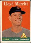 1958 Topps #231  Lloyd Merritt  Front Thumbnail