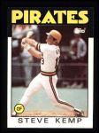 1986 Topps #387  Steve Kemp  Front Thumbnail