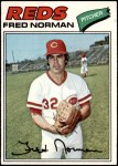1977 Topps #139  Fred Norman  Front Thumbnail