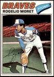 1977 Topps #292  Rogelio Moret  Front Thumbnail