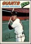 1977 Topps #591  Chris Arnold  Front Thumbnail