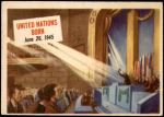 1954 Topps Scoop #22 xCOA  United Nations Born  Front Thumbnail