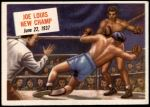 1954 Topps Scoop #40 xCOA  -  Joe Louis New Champ Front Thumbnail
