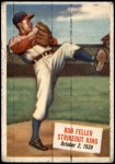 1954 Topps Scoop #27 xCOA  -  Bob Feller Bob Feller Strikeout King Front Thumbnail