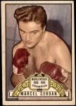 1951 Topps Ringside #5  Marcel Cerdan  Front Thumbnail