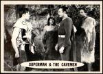 1966 Topps Superman #40   Superman & the Cavemen Front Thumbnail